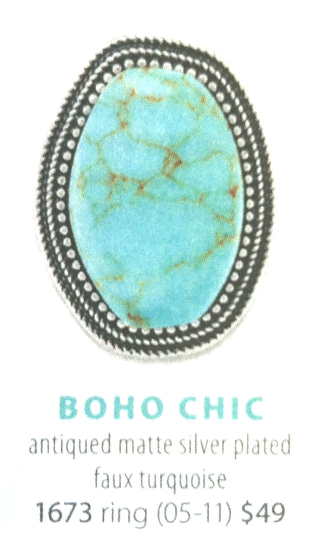 Here is the Boho Chic Ring look for the matching necklace