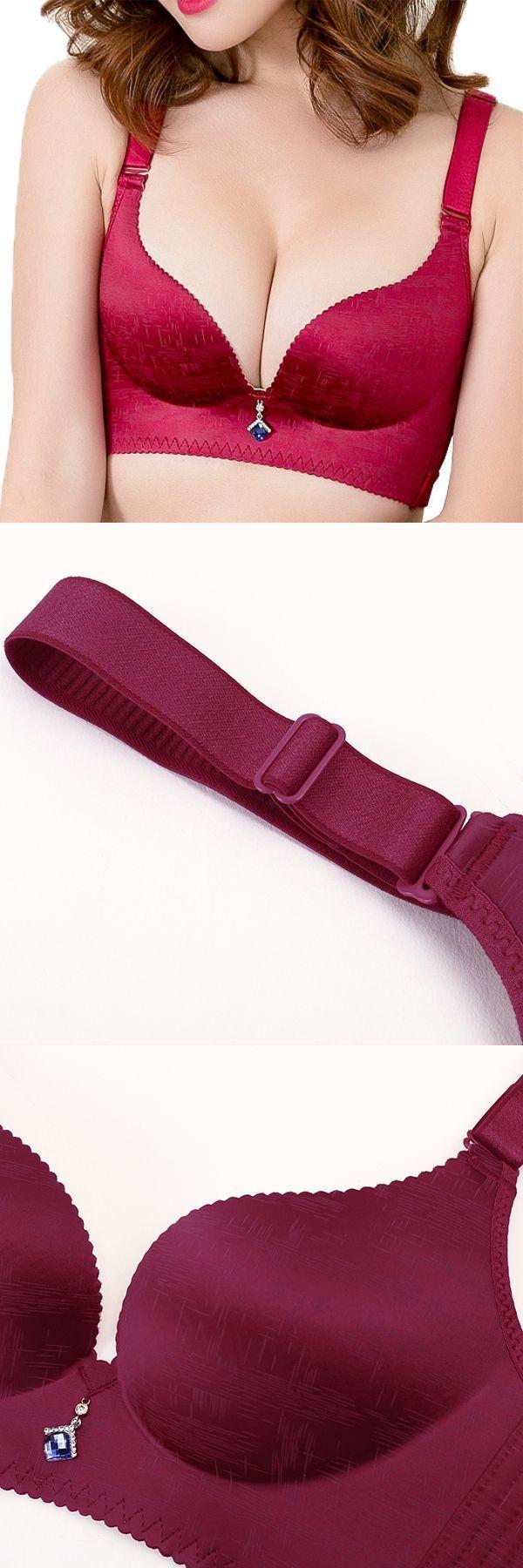 28d5f50302 Bra open in fashion show plus size smooth plunge wireless seamless  adjustable gather bras  fashion  model  no  bra  fashion  tape  no  bra   myanmar…