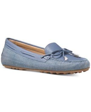 05180d04cbd0 Michael Michael Kors Daisy Moc Flats - Blue 9.5M