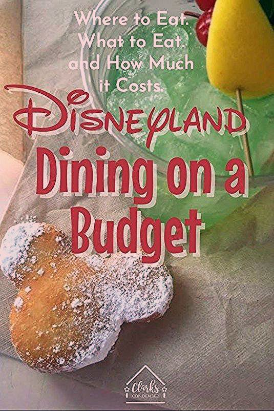 Photo of The BEST Tips for Disneyland Dining on a Budget