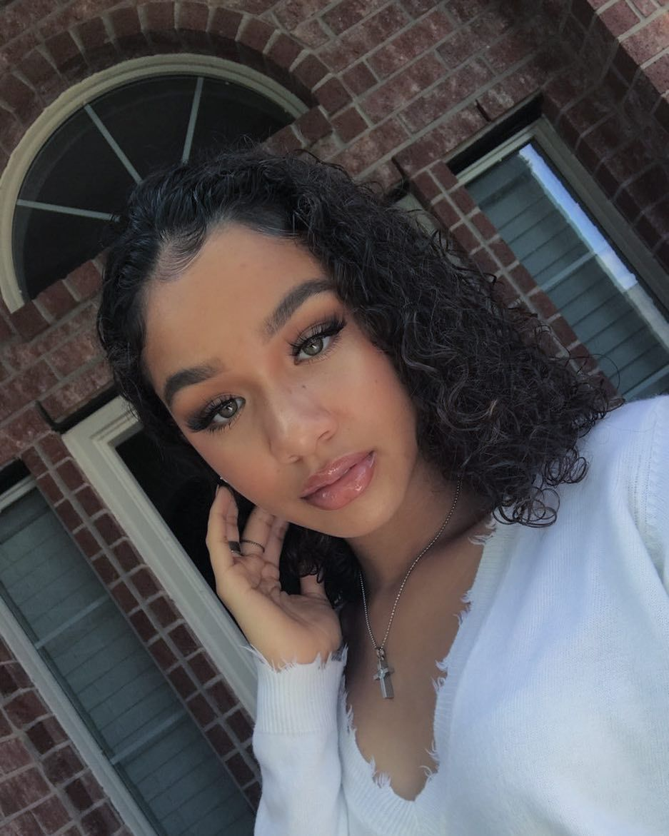 Pin By Issaqueen On Tens And Better Light Skin Girls Light Skin Black Girls Curly Girl Hairstyles