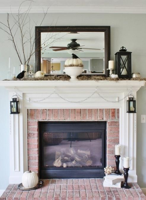 Ways To Dress Up Your Mantel