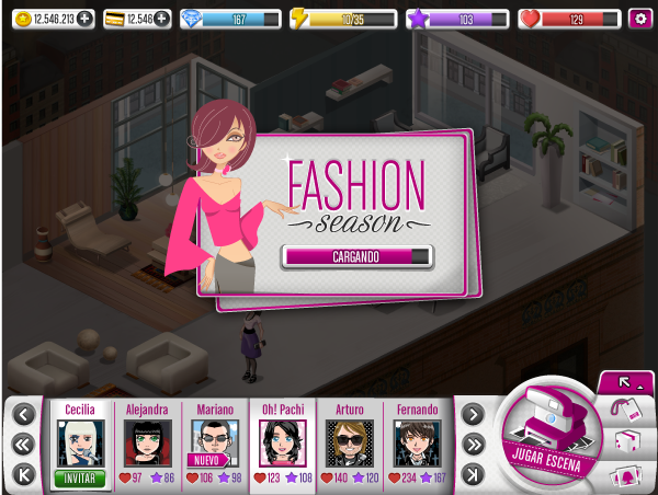 Fashion Season By Sabrina Torchiana Via Behance Ui Video Games Pinterest