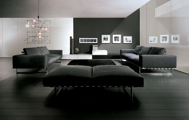 Modern Black Japanese Interior Design With White Roofing Http