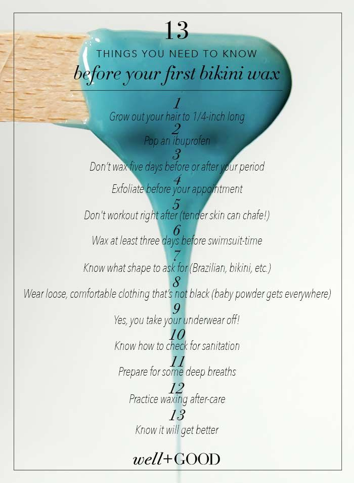 How To Prep For A Bikini Wax Bikini Wax Wax Waxing Tips