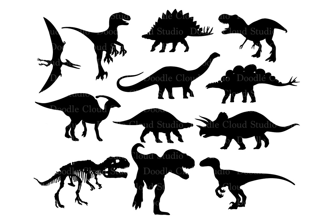 Download Free Dinosaur Svg For Cricut in 2020 | Dinosaur silhouette ...