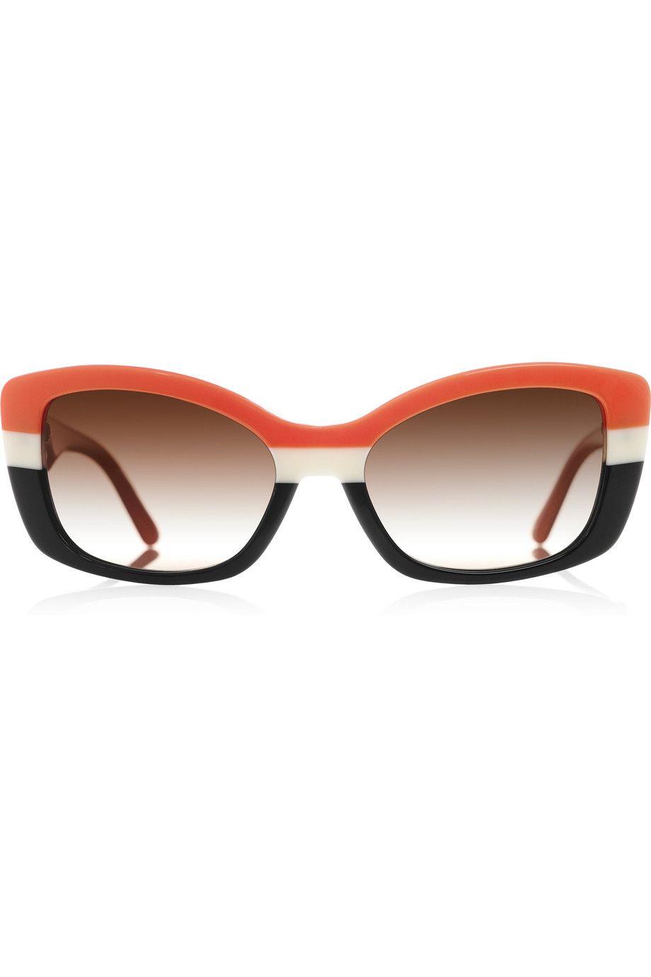 Prada   D-frame acetate sunglasses   NET-A-PORTER.COM   Fashion ...
