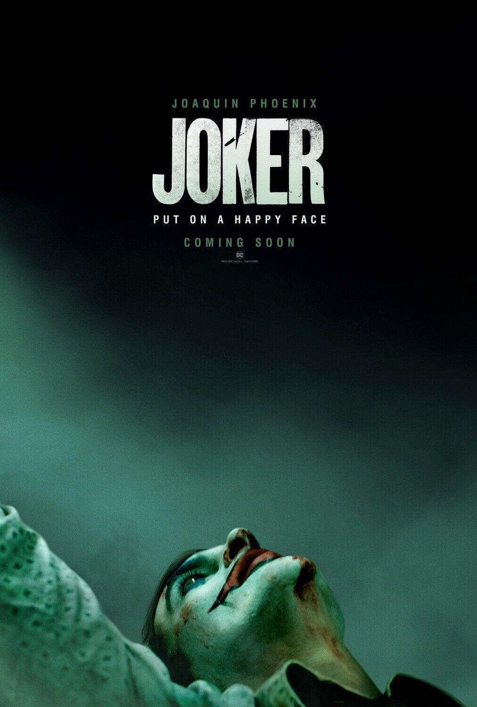 Picture 1 Of 2 Joker Poster Joker Film Joaquin Phoenix