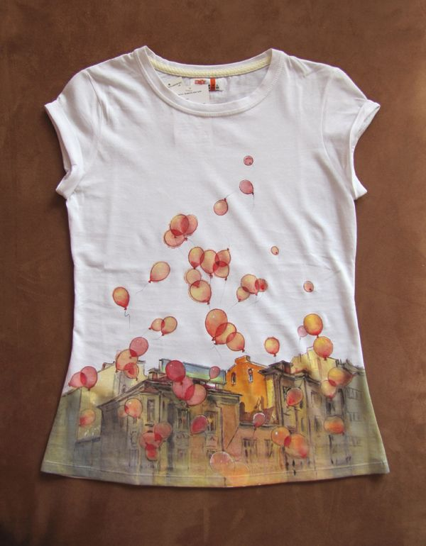 8f9cb17fbb773 hand-painted t-shirts by ~kalinatoneva on deviantART | WATERCOLOR ...