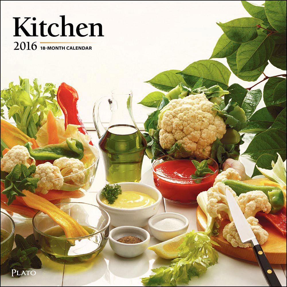 Kitchen 2016 Wall Calendar: 9781465047410 | | Calendars.com