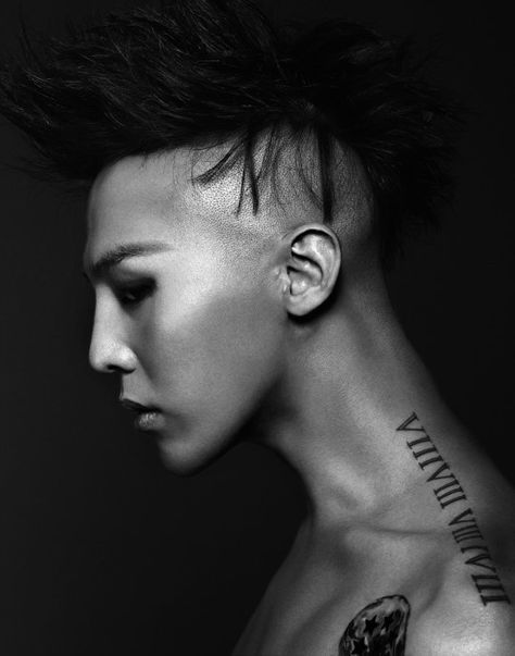 G Dragon Neck Tattoo : dragon, tattoo, Dragon-love, Tattoo, Photo!, Dragon, Tattoo,