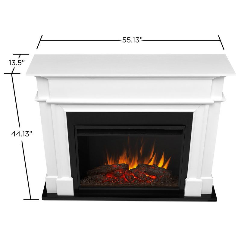 Harlan Grand Electric Fireplace Fireplace Decor Real Flame