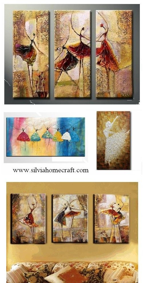 Elegant Hand Painted Group Paintings For Home Decoration. Large Wall Art, Canvas  Painting For Bedroom, Dining Room And Living Room.