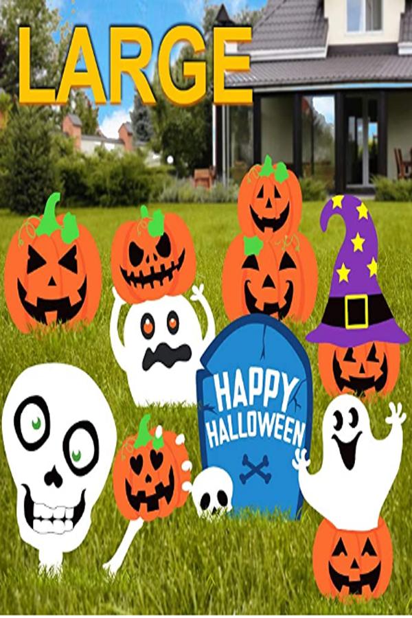 Halloween Decorations Outdoor In 2020 Halloween Outdoor Decorations Halloween Decorations Diy Outdoor Halloween Decorations