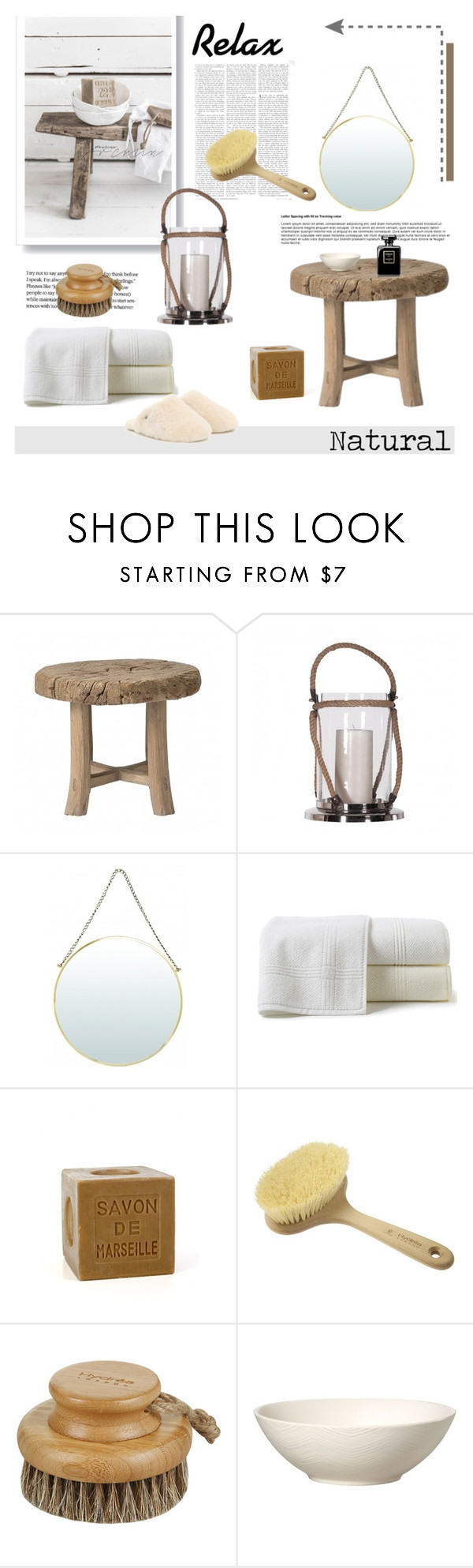 """Natural"" by viva-12 on Polyvore featuring interior, interiors, interior design, home, home decor, interior decorating, Peacock Alley, Hydrea London and UGG Australia"