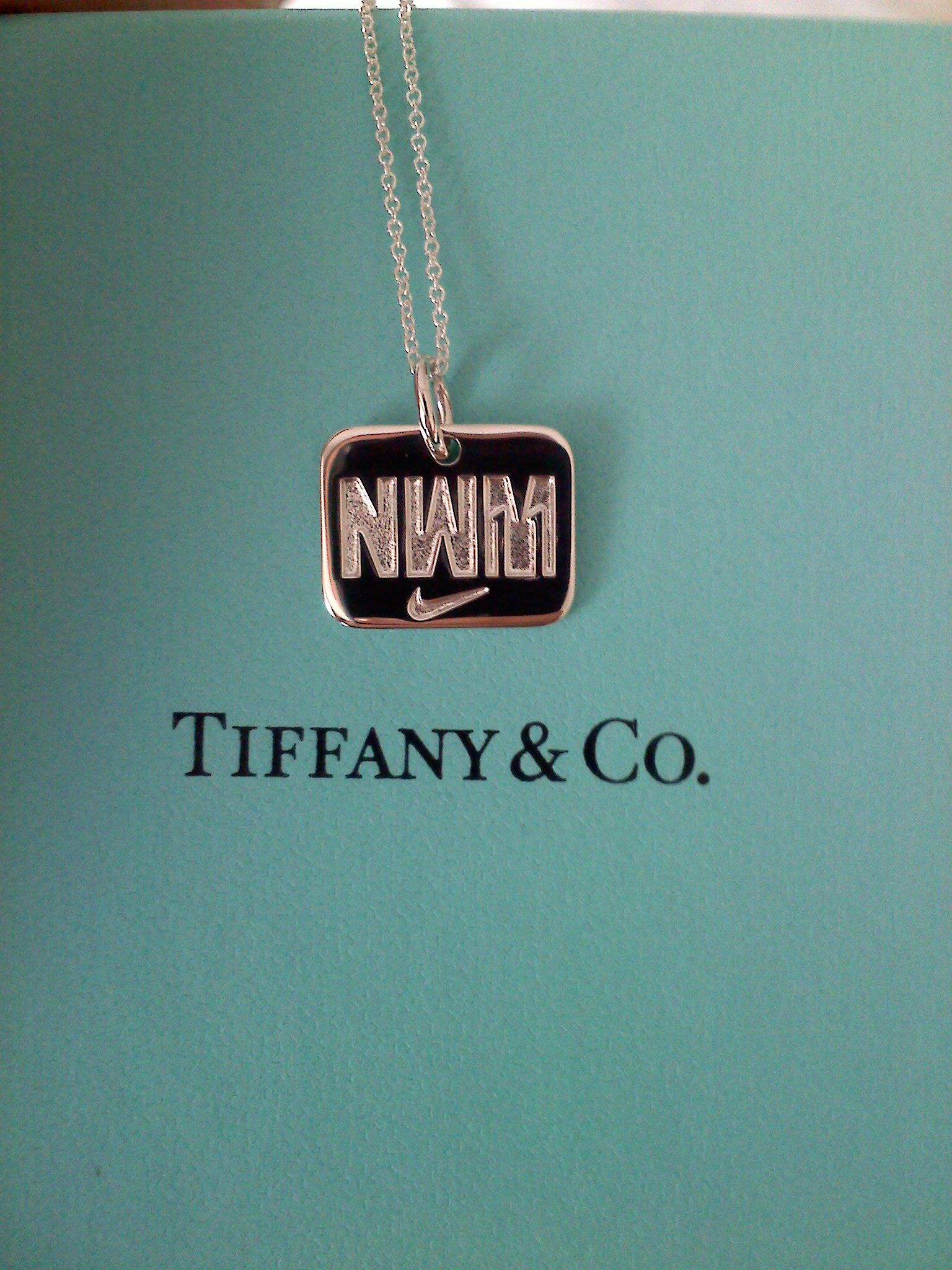 6434f59f7a8d NIke Women s Half Marathon gives you a Tiffany and Co. necklace at the  finish line. I could run for jewelry. haha