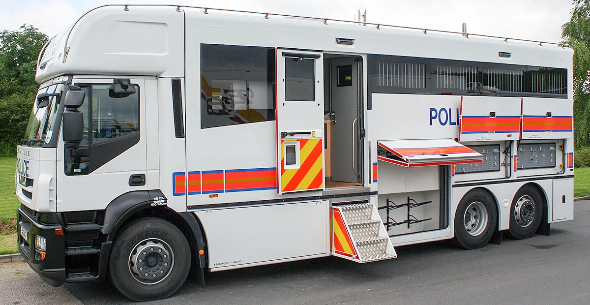 Horse Police Lorry Converted by MacNeillie Police cars