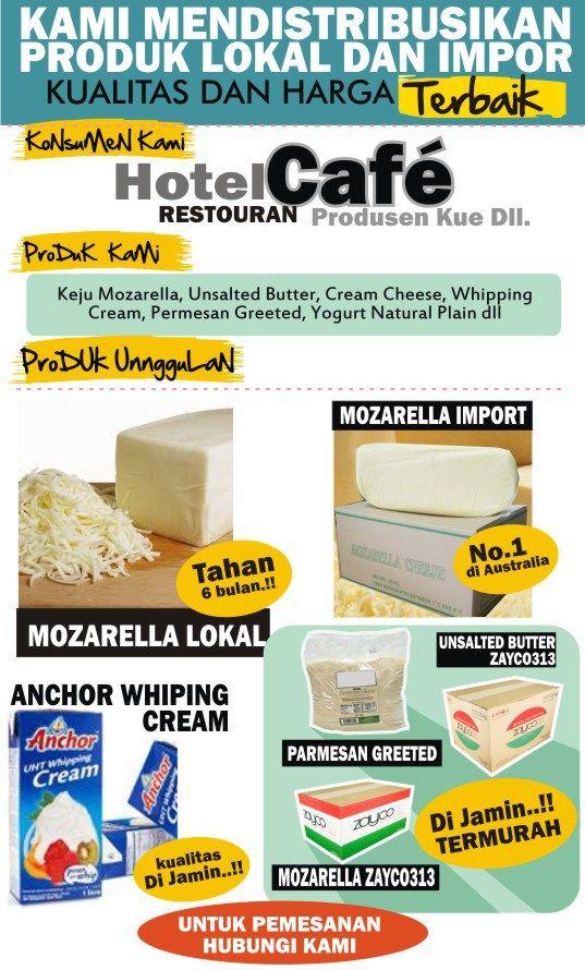 Jual Keju Mozarella Di Bandung Paling Murah Keju Dan Makanan