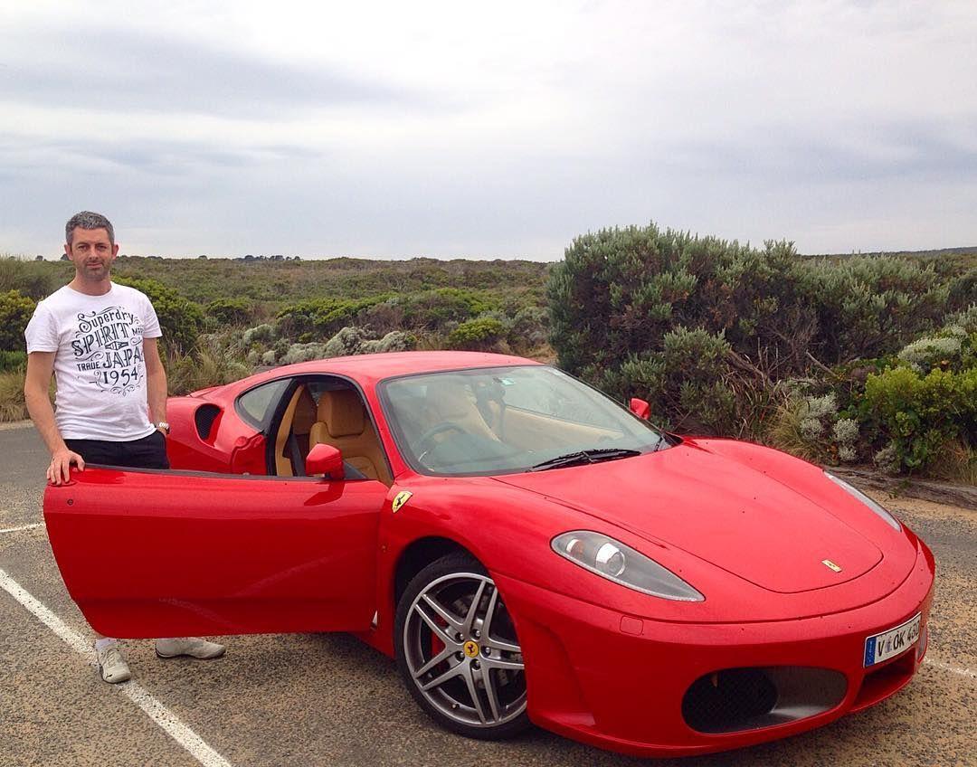 #lochardgorge #greatoceanroad #views #ferrari #f430 #red #f1gearbox #australia #bassstrait #hamilhoff #supercar by hamilhoff