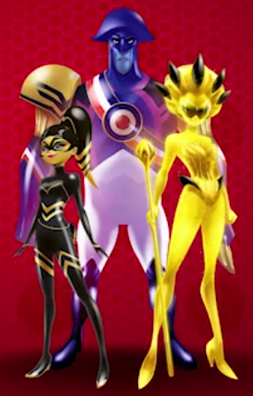 Marvelous The Queensu0027 Fight | Miraculous Ladybug Wiki | FANDOM Powered By Wikia  Episode Trilogy: 1.) Style Queen 2.) Queen Wasp 3.) Malediktor