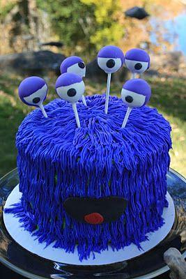 MonsterCake  Celebrate  Kuchen kindergeburtstag