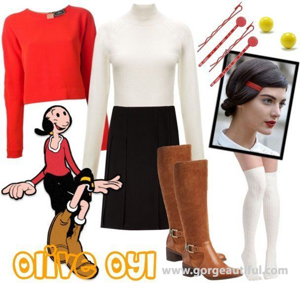 Image result for homemade olive oyl top holidays halloween image result for homemade olive oyl top solutioingenieria Images