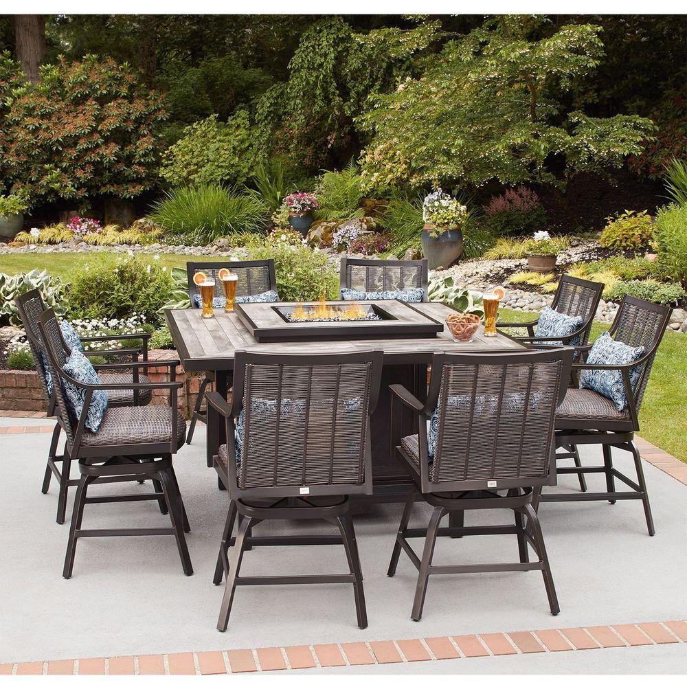 31++ Wicker patio set with fire pit ideas