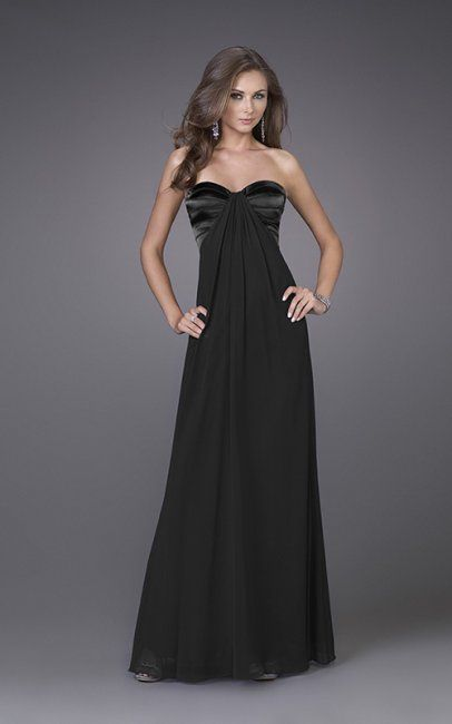 Collection Cheap Long Black Dress Pictures - Reikian