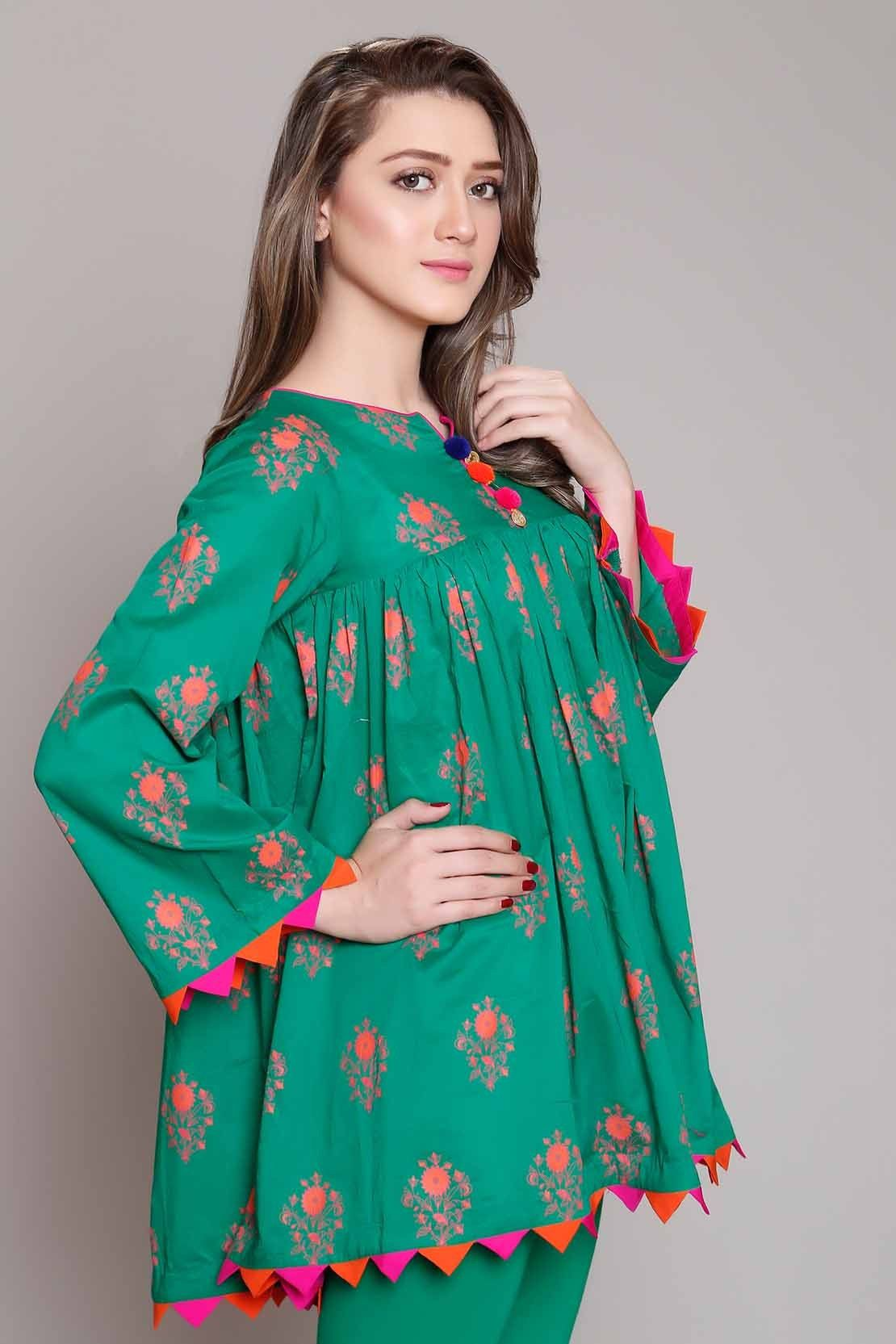 b67d0b4ea1 Rang Ja Pret 2017 Collection Eid Festival | Floral | Kurti sleeves ...