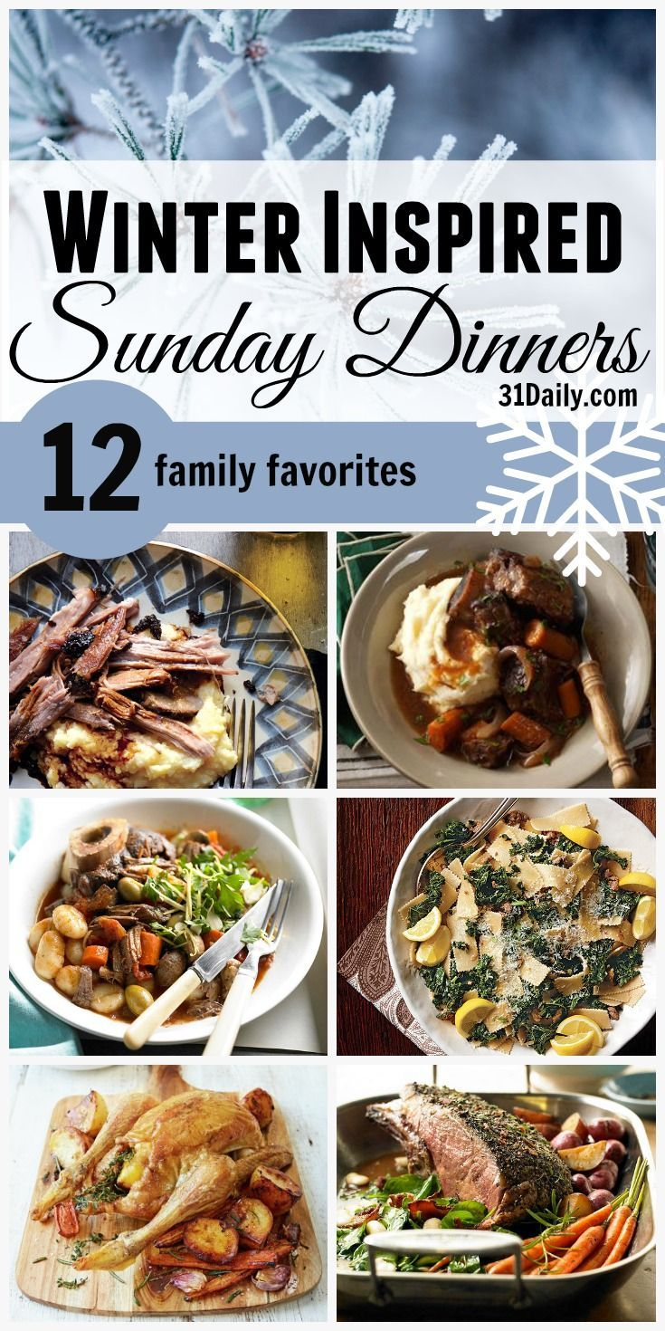 Winter Inspired Perfect For Sunday Dinner Ideas images