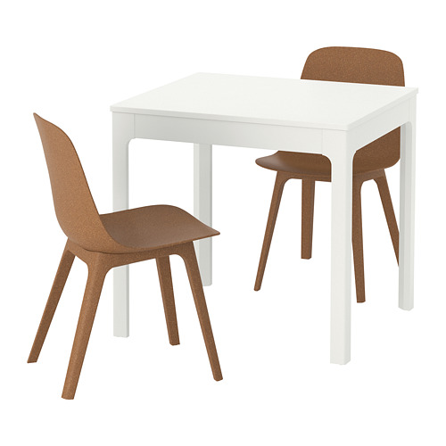 efd42eef36c IKEA - EKEDALEN   ODGER Table and 2 chairs white
