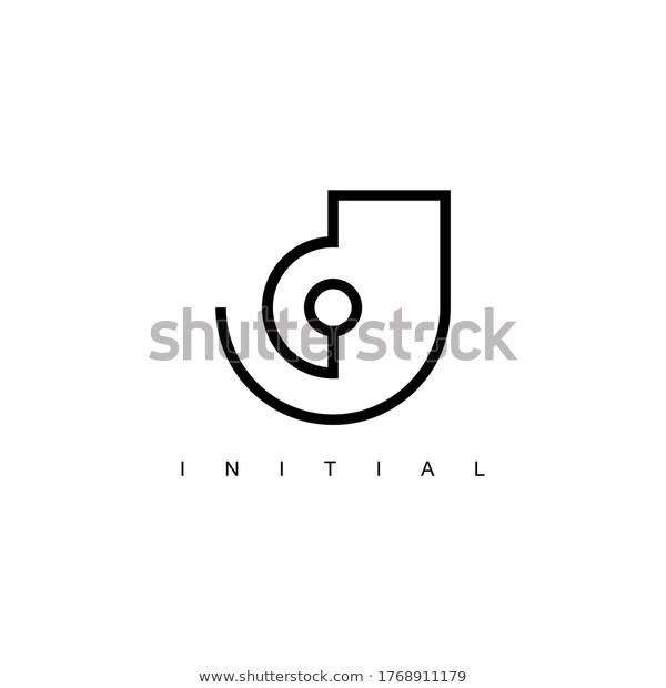jd logo line concept design stock vector royalty free 1768911179 logo design logodesign vector initial line j d in 2020 concept design logo line logo design jd logo line concept design stock