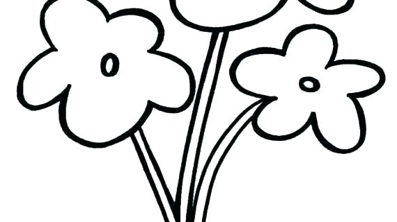 easy drawing flower drawing flowers easy easy flower to draw