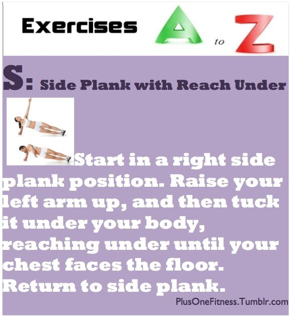 An Essential A Z On Quick Solutions In Weightlifting: Side Plank With Reach Under