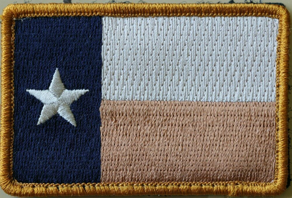 Texas Flag Tactical Combat Morale Patch Military Desert Velcro Embroidered In 2020 Morale Patch Military Morale Patch Tactical Patches
