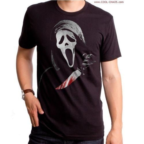 65e3384a343 Scream Ghost Face Killer T-Shirt   Men s Horror Movie Tee