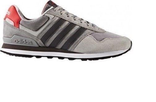Grey � Men\u0027s Adidas NEO 10K Color GREY Athletic Sneaker Casual Shoes ...