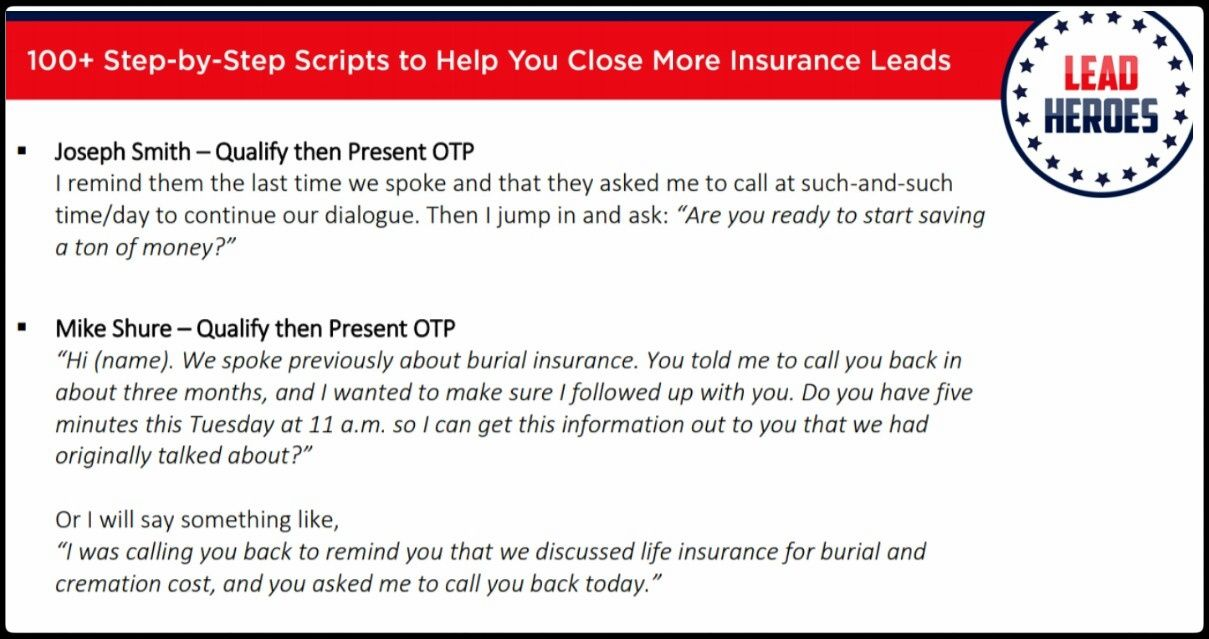 100 Insurance Sales Scripts Ebook Grab Your Free Copy Today Insurance Sales Script Ebook