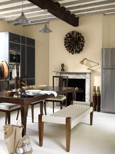 couleur cuisine peinture murs couleur sable astral couleur cuisine peinture mur et sabl s. Black Bedroom Furniture Sets. Home Design Ideas