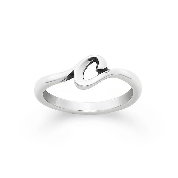 James Avery initial ring