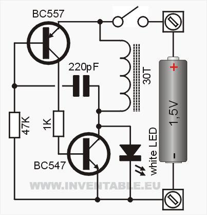 Circuito electr\u00f3nico del convertidor DC-DC