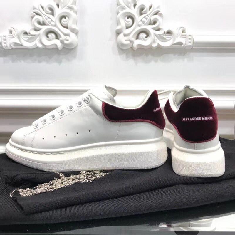 Alexander McQueen white sneakers unisex