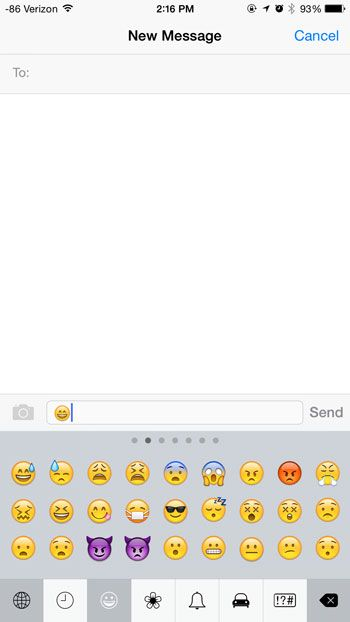 How To Put Emojis In An Iphone Text Message Messages Iphone Texts Emoji
