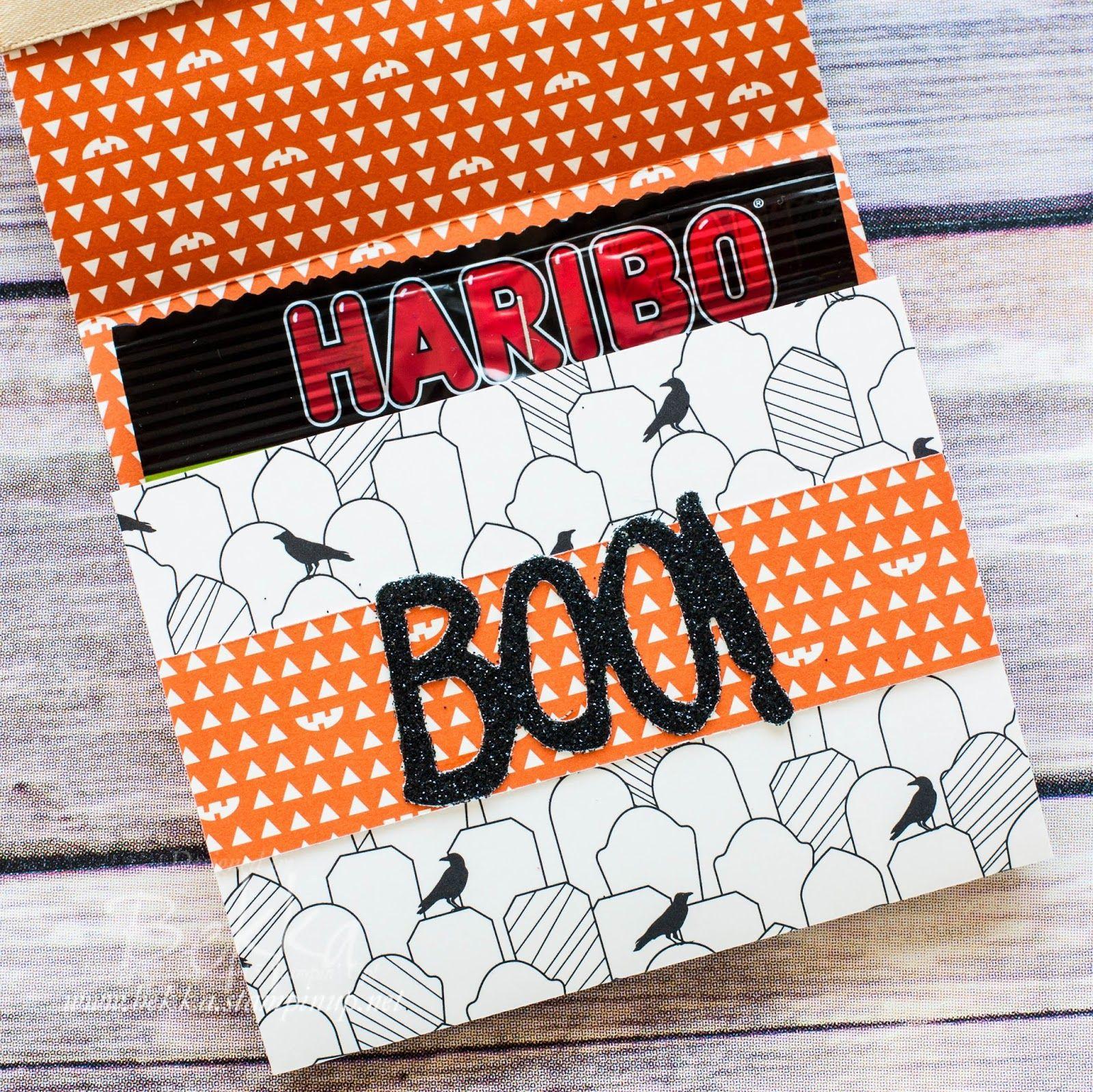 Halloween week how to make haribo sweet treat wraps