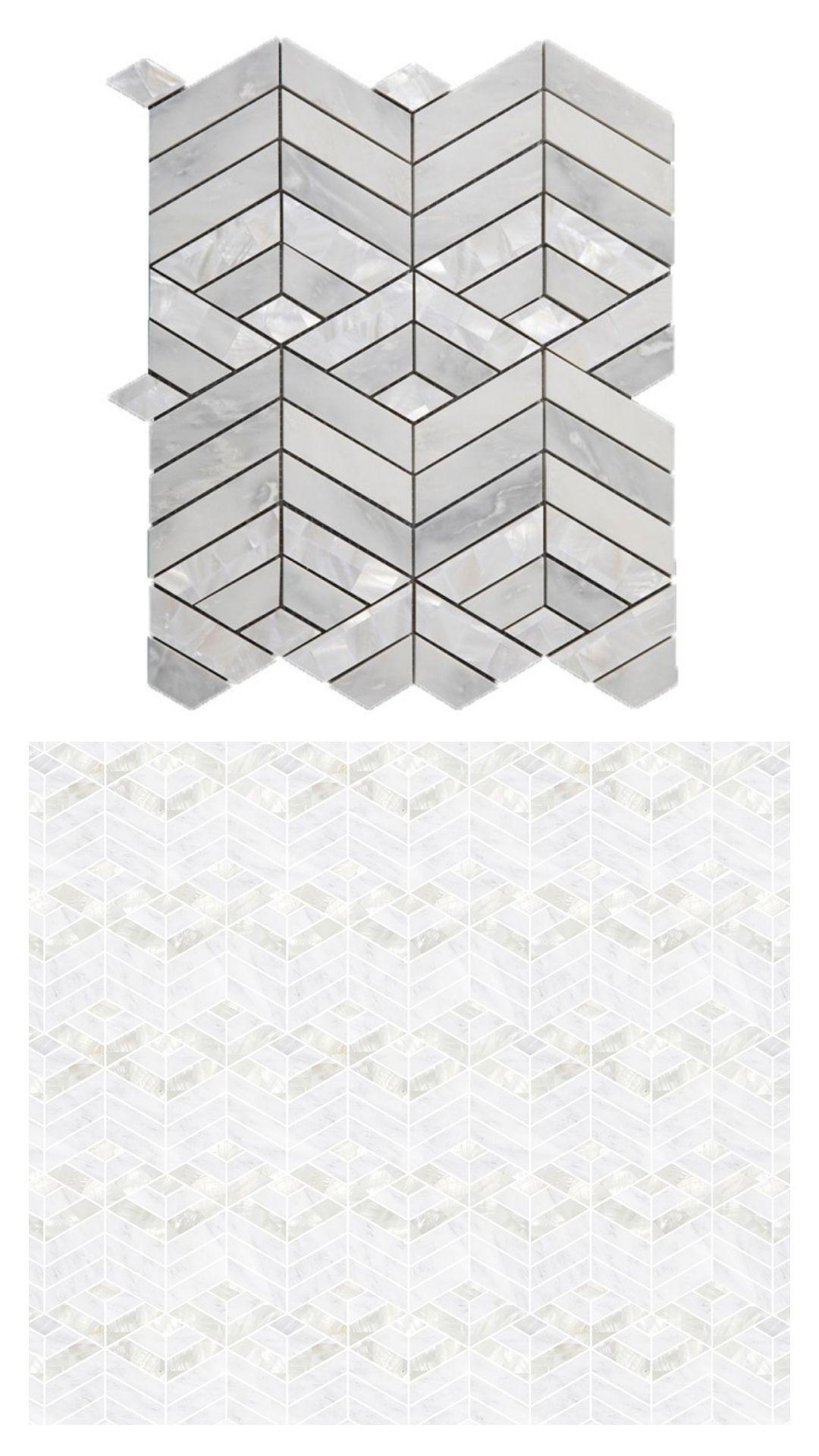Pin On 2020 Backsplash Tile Trends