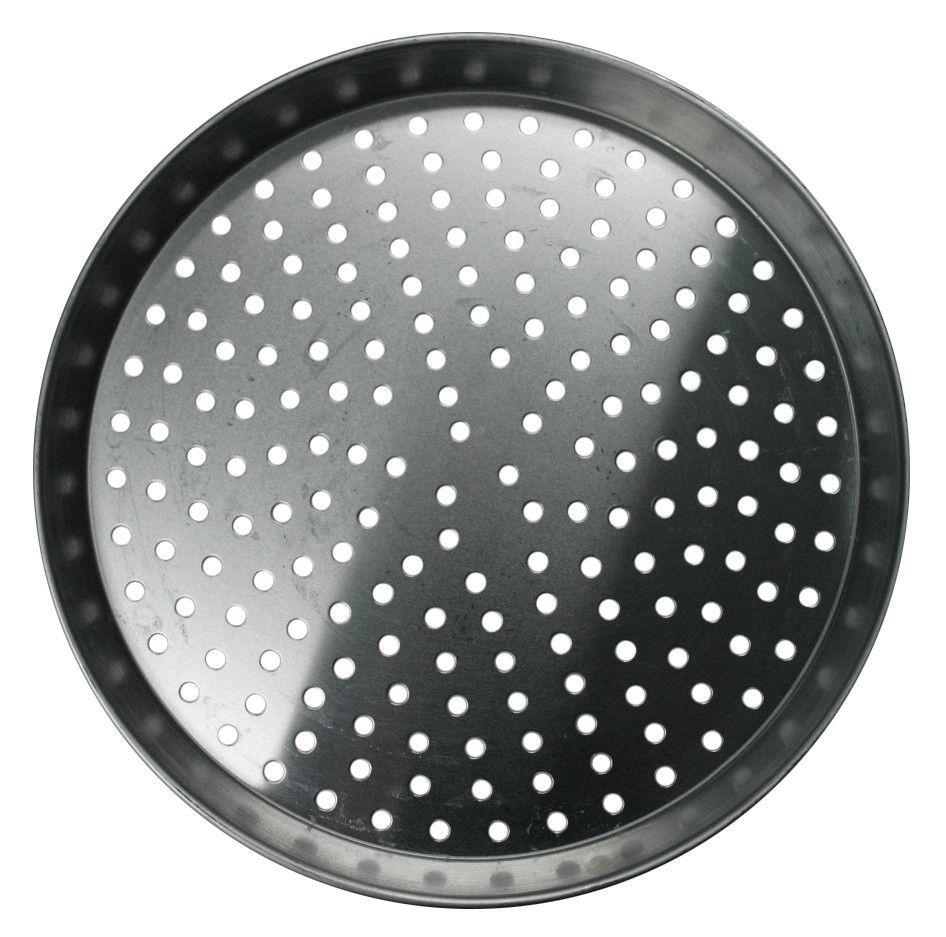 """14"""" Aluminum Perforating Pan - 1/2""""D (A2014P)"""