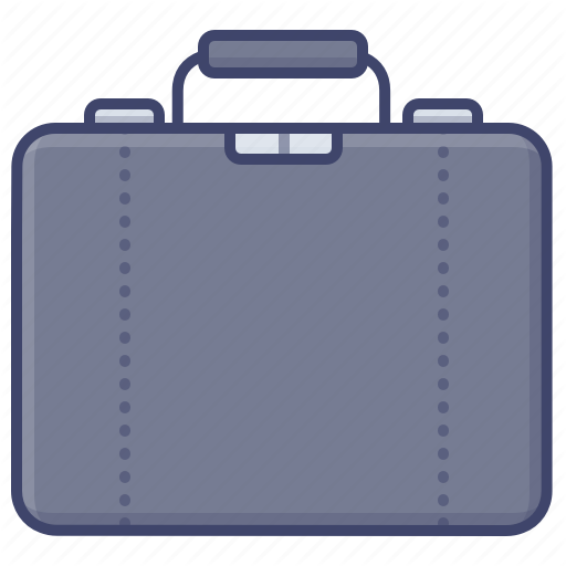 Briefcase Business Leather Suitcase Icon Download On Iconfinder Suitcase Leather Icon