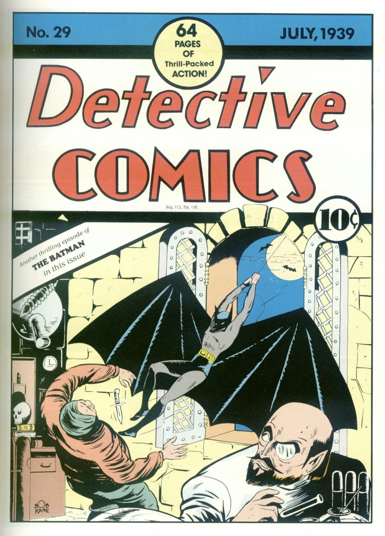 15  Detective Comics #29 - $195,000 | MONEY | Comics, Valuable comic