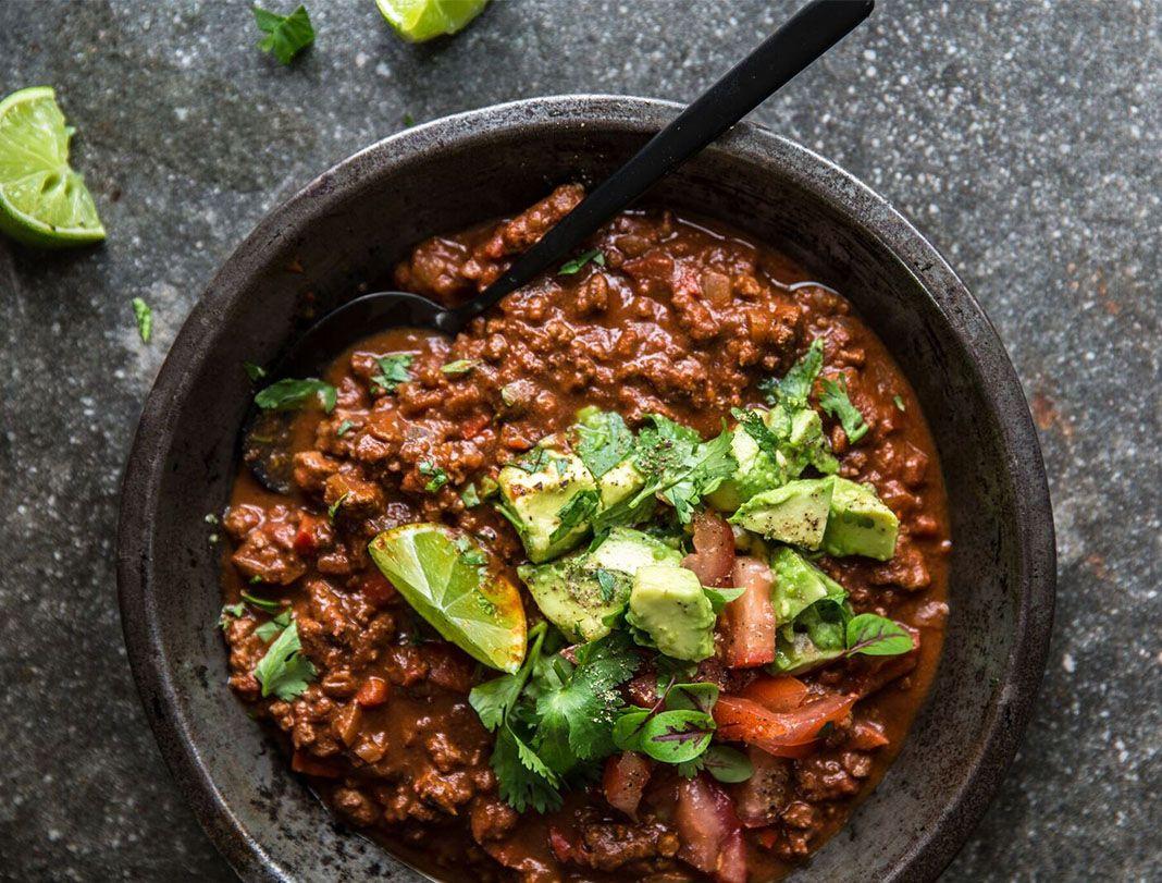 Recipe Scott Gooding S Chilli Con Carne Sporteluxe Amodrn Chilli Con Carne Con Carne Recipe Recipes