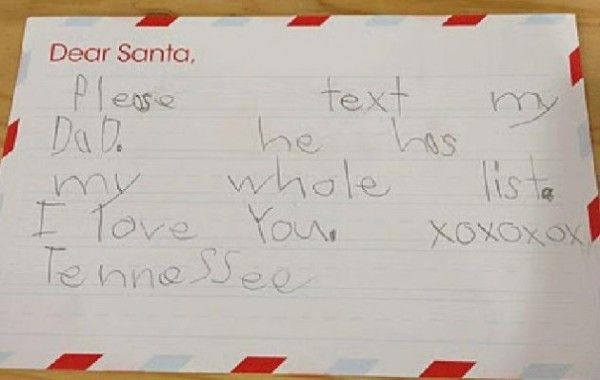 Inappropriate But Hilarious Letters To Santa  Santa And Hilarious